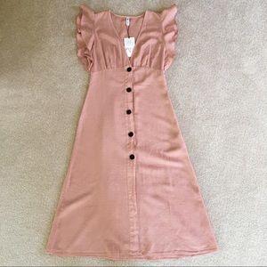 NWT Zara Maxi Boho Dress